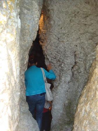 Capranica Prenestina, Italy: entrata della grotta