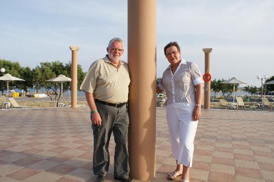 Ostria Resort & Spa : avant l'apéro Gilberte / Michel