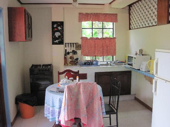 De Reef Apartments: Kitchen of our one bedroom apartment