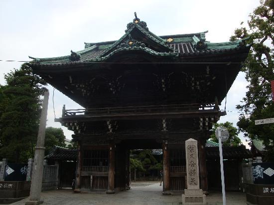 Shibamata Taishakuten (Taishakuten Daikyoji Temple): 正門