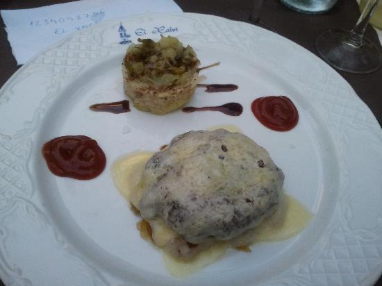 Restaurant El Xalet: Set menu - 2nd course