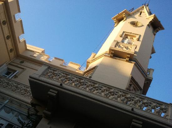 Restaurant El Xalet : Looking up from our seat