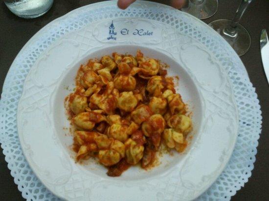 Restaurant El Xalet: Set menu - 1st course