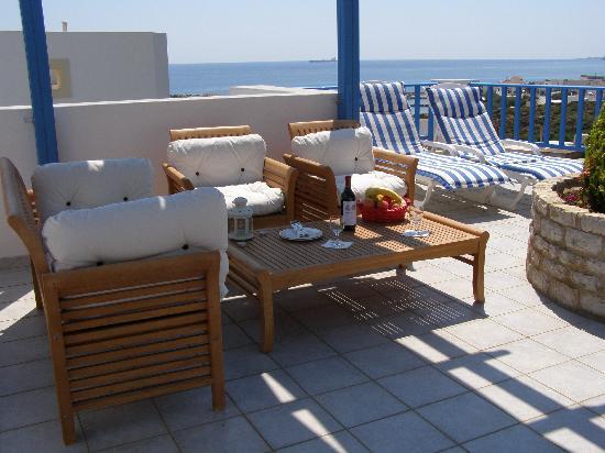 Romantica Hotel: sea view from junior suite