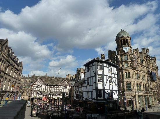 Manchester, UK: altstadt