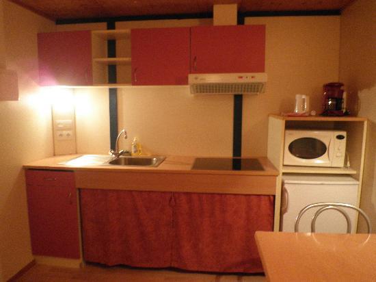 Git'Ostal : Cocina bungalow