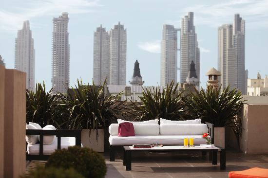 Moreno Hotel Buenos Aires: Terrace