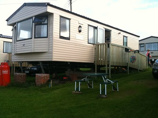 Ayr Holiday Park: our van in 2009