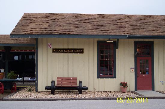 Springdale, أركنساس: Springdale Train Station