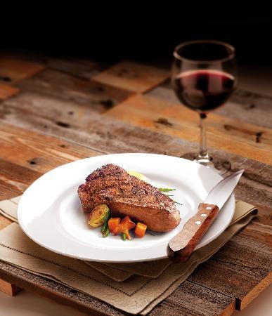 Parkers' Restaurant & Bar: NY Strip Steak