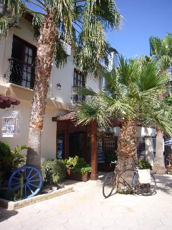 Almond Holiday Village: reception entrance pool side
