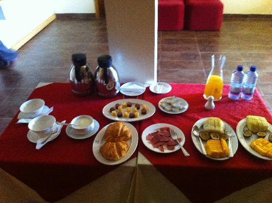 Kigali Guestlux Hotel : Breakfasts
