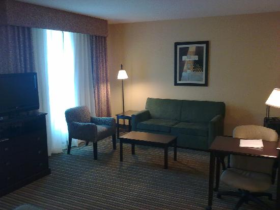 Hampton Inn & Suites National Harbor/Alexandria Area: Another angle...
