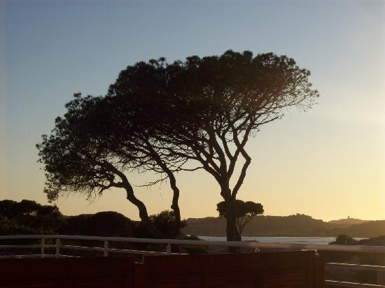 Lagrange Prestige Les Terrasses des Embiez : coucher de soleil enchanteur depuis notre terrasse!