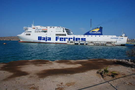 Baja Ferries boat