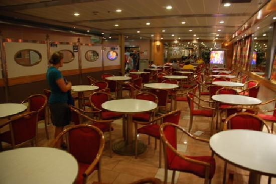 Baja Ferries: Dining room on boat