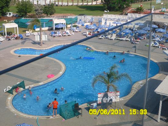 Odessa Beach Hotel: View from our room