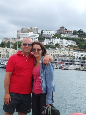 Channel View Guest House: Raf & Graz Torquay UK