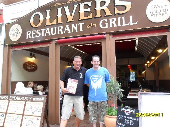 Olivers Restaurant: thank you