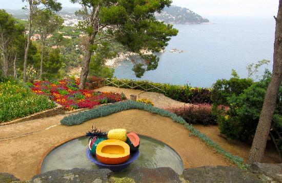 Cap roig sea overlook fotograf a de jard n bot nico de for Jardin botanico cap roig