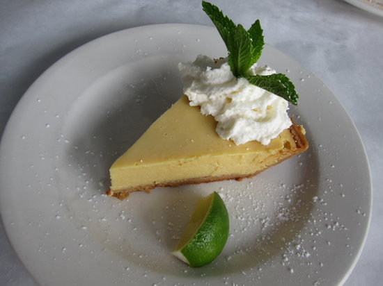 Sunshine Seafood Cafe: Best Key Lime Pie Ever!!!