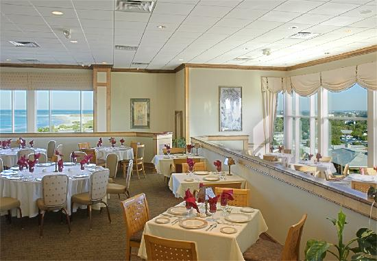 Lido Beach Resort: The Lido Beach Grille, unique roof-top fine dining with ocean views.