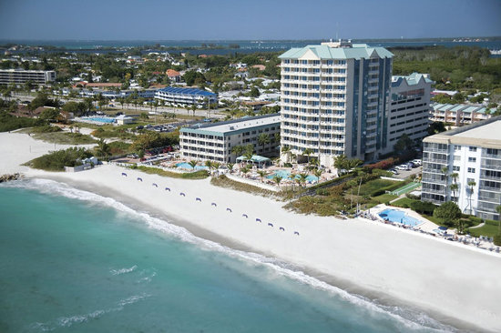 The Lido Beach Resort - less than one mile from Sarasota's St. Armands Circle