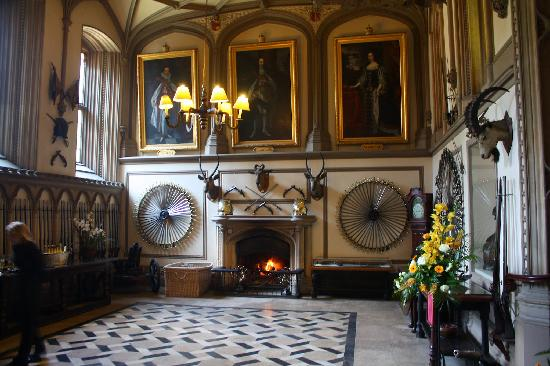 Part of the Guard Room Picture of Belvoir Castle Belvoir