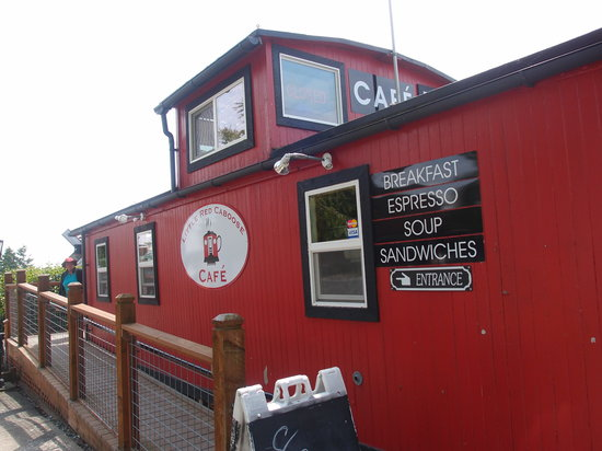 Little Red Caboose Cafe: Little Red Caboose