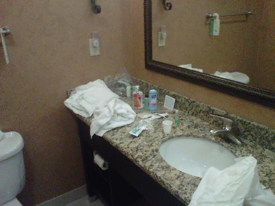 Comfort Suites Alamo/Riverwalk : Vanity