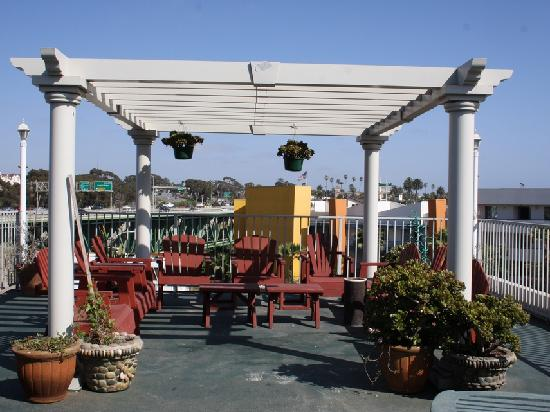 Harbor Inn & Suites Oceanside / San Diego : Patio