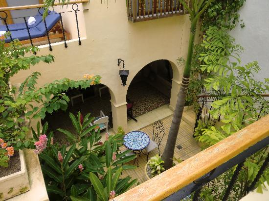 Casa Boutique Veranera: View from Upper Floor