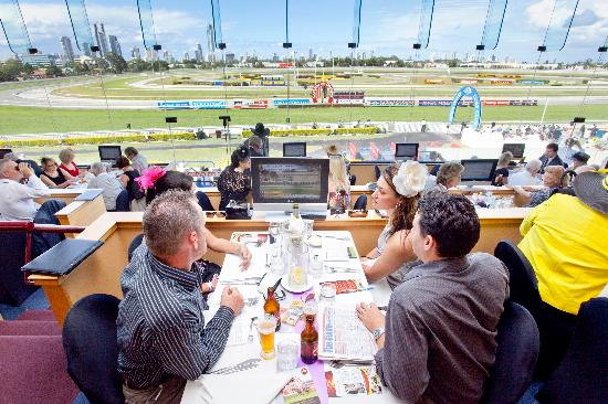 Gold Coast Turf Club: Restaurant dining available - every Saturday