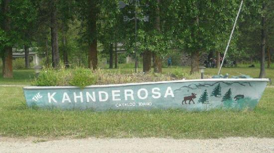 Kahnderosa River Campground: Signage