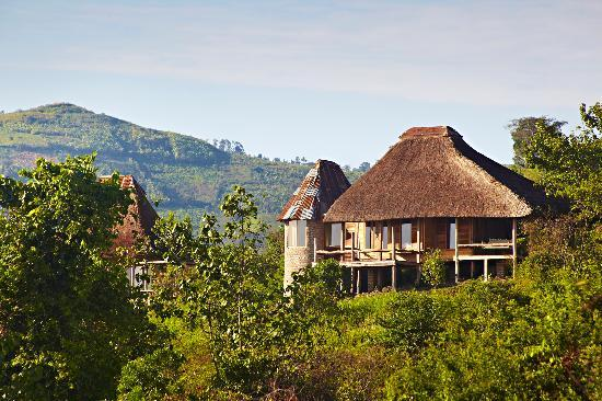 Exterior - banda at Volcanoes Kyambura Gorge Lodge