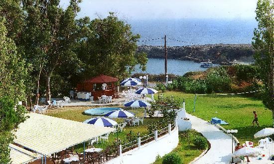 Irinna Hotel: SEA VIEW