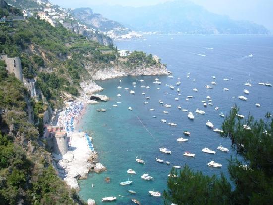 Amazing sea view - Review of Il Pavone, Conca dei Marini, Italy ...