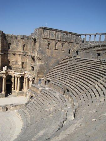 Bosra, Syria: grande!!!!anfiteatro