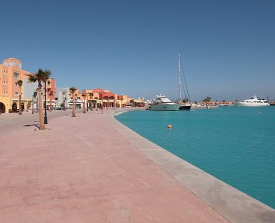 Хургада, Египет: Marine, Walking area, Hurghada