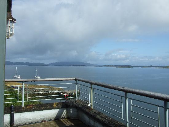 Crinan Hotel : Morning view from balcony