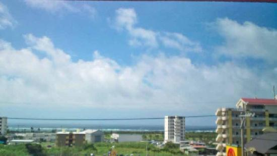 Resort In Rasso Ishigaki: 4階客室より海を望む