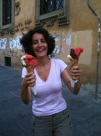 "Gelateria Santa Trinita: returning in Florence just to taste ""gelato"" from Santa Trinita for the last time!"