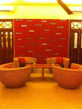 Casa Colombo: Hotel reading lounge