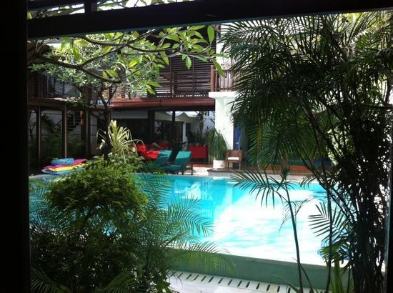 Villa Casis: from bedroom