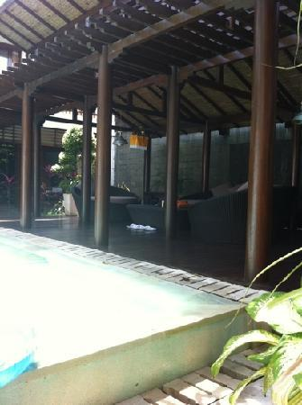 Villa Casis: daubed
