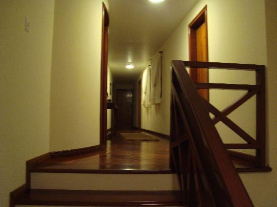 Pousada Le Sirenuse : Corredor para os quartos