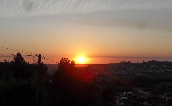 Agueda, Portugal : POR DO SOL