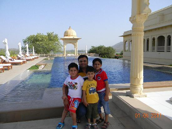 The Oberoi Udaivilas: KIDS ENJOYED A LOT