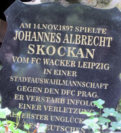 Sudfriedhof: verunglückter Fußballspieler