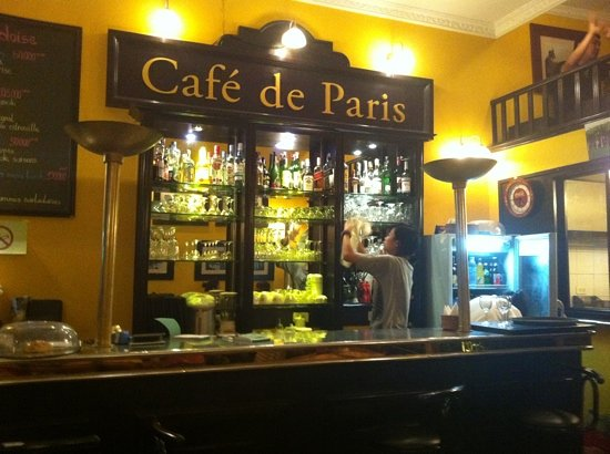 Cafe de Paris: Voilà!